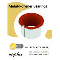 Buy cheap Metal-Polymer Self-lubricating Bearing Solutions   Hydraulic Components from wholesalers