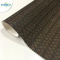 China New Design Shining Pu Glitter Fabric For shoes And Bags on sale
