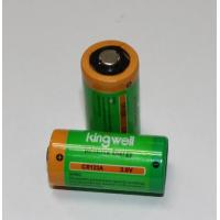 Best 1500mAh CR123A Lithium Primary Battery 3V wholesale