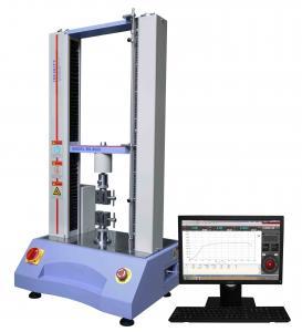 China Desktop Universal Testing Machine Capacity 5KN ASTM / ISO Servo Control on sale