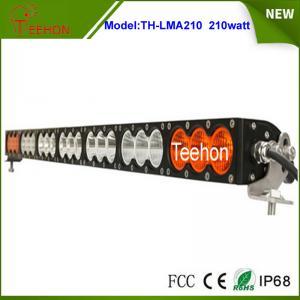 "Best 37.9"" 168000lm amber led light bar single row multi color led light bar for off-road wholesale"