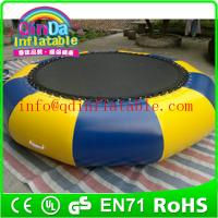 Best inflatable water trampoline for sale, inflatable trampoline on water Trampoline for kids wholesale