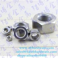 Buy cheap Hot sale low price China fastener manufaturer hex nut m3 to m64 din934 from wholesalers