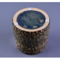 China Transmutation Glaze Ceramic Candle Jar on sale