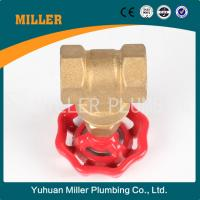 Best 3 inch made in china brass gate valve ML-1003 wholesale