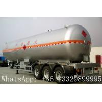 Best China famous leading bulk propane gas tank semitrailer for sale, hot sale best price lpg gas tank semitrailer for sale wholesale