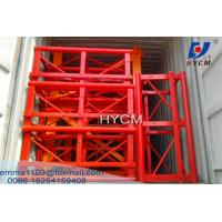 China SC Building Lifter Spare Parts Mast Section with Racks And Bolts on sale