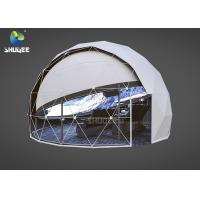 Best High Technology Immersive Full Dome Cinema 4D Cinema Dome Projection With 14 Cinema Chairs wholesale