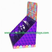 Best Greeting cards cardboard counter display portable store display box display case wholesale