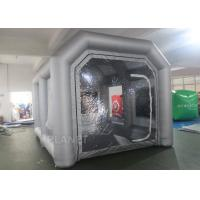 China Custom Small Portable Mobile Inflatable Spray Booth For Car Maintaining on sale