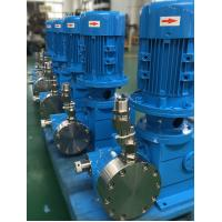 Double Hydraulic Diaphragm Pump , Chemical Processing Pumps Customized
