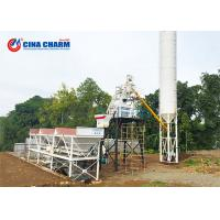 Buy cheap Wet 50CBM Stationary Concrete Batching Plant Automatic 3 X 8.3m3 Aggregate from wholesalers