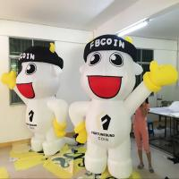 PVC custom inflatable models/giant inflatable cartoon for advertising