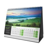 China Folding Office Desk Custom Calendar Printing With Business Advertising Printed on sale