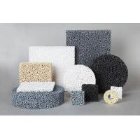 China SIC Ceramic Reticulated Foam Filter Dark Grey Colour For Metal Foundry Industry on sale