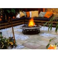 Best Factory price outdoor real flame  bbq round Propano gas fireplace fire pit wholesale