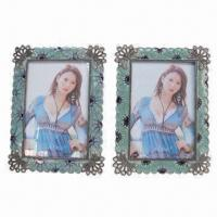 Best Square Metal Photo Frames, Made of Zinc Alloy Material wholesale