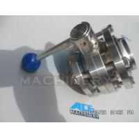 China Stainless Steel Manual Threaded Butterfly Valve (ACE-DF-2C) on sale