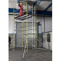 Best Lightweight Professional Aluminium Mobile Scaffold Flexibility Versatility For Inspecting Roof wholesale