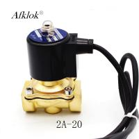 Best 1Mpa Brass 3/4 inch Normally Closed 24 volt Underwater Solenoid Valve wholesale
