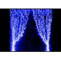 Best Party LED Curtain Lights High Brightness Strings Connectable Waterproof 5 * 1M wholesale