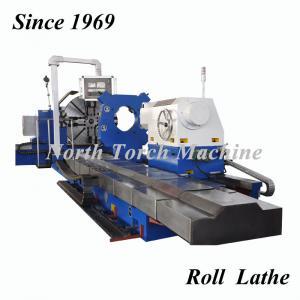 Best Metal Horizontal Cnc Lathe Machine High Speed 4 Guide Rails High Stability wholesale
