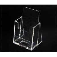China wall mounted acrylic business card holder on sale