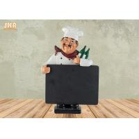 Buy cheap Small Polyresin Statue Figurine With Chalkboard Blackboard from wholesalers