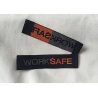 Best Personalized Sewing Tags Labels , Woven Shirt Labels Content Labels For Clothing wholesale