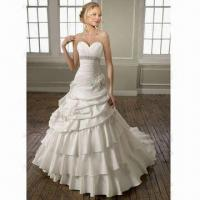 Best A-line Taffeta Sweetheart Layer Wedding Dress/Bridal Gown wholesale
