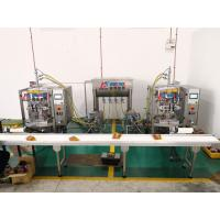 Best Cooking oil PE packing machine with piston pump for wholesale