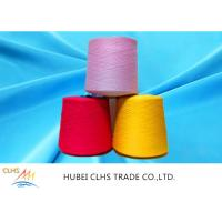 Best 100% Virgin Spun Dyed Polyester Yarn 40 / 2  AA Grade For Sewing Thread / Embroidery wholesale