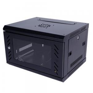 Best Wall Mount 6u Rack Cabinet Server Cabinet Sliding Shelf Cold Rolled Steel Plate wholesale