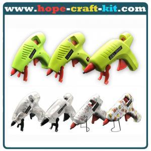 China Electric Anti-drip Hot Melt Glue Gun Mini 7mm 11mm wtih Stands for kids Children hobbies DIY material tools UL ROHS PSE on sale