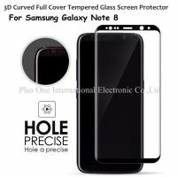 Best 3D Full Cover Tempered Glass Screen Protector 0.33mm 9H Anti Shock Case Friendly for Samsung Galaxy Note 8 wholesale