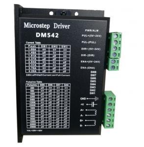 China 57 / 60 / 86mm CNC Stepper Motor Driver Kit Digital Stepper Controller DM542 on sale