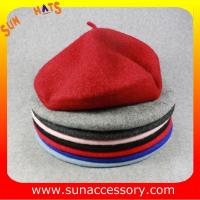 Best AK17043 Sun Accessory advertising  winter knitted beanie beret hats for girls wholesale
