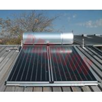 Best Pressurized Flat Plate Solar Water Heater Rooftop Intelligent Controller High Efficient wholesale