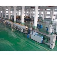 Best Gas / Water Supply Pipe Extrusion Line PE / HDPE Pipe Welding Machine wholesale