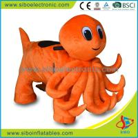 Best Coin Operated Plush Motorcycle Hot Battery Kids Bikes Plush Electrical Animal Toy Car wholesale