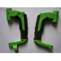 China Cusomized multi shot injection molding twin color ABS+TPR overmoulding parts on sale