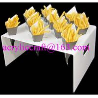 Best Countertop acrylic french fries cone display stand wholesale