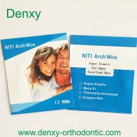 Buy cheap Denxy Orthodontic wire Orthodontic niti arch wire Orthodontic stainless steel archwire product