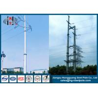 Best Galvanised Steel Tapered Power Transmission Poles for Overhead Power Line wholesale