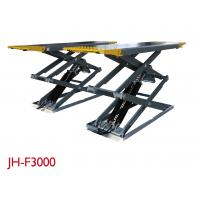 Best Stable Vehicle Scissor Lift 3000KG Capacity For Drive - Train Work High Adapter wholesale