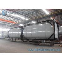 Best Horizontal 40 Feet 50000L Heating Bitumen Tanker ISO Tank Containers wholesale