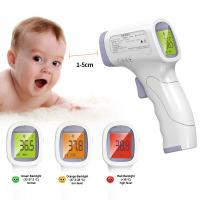 Best Medical Grade Non Contact Infrared Thermometer With Data Retention Function wholesale