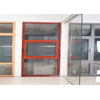 Best Hidden Hinge Aluminium Glass Window Site Red Inside And Outside Windows wholesale