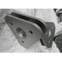 China Silver Precision Metal Components , Zinc Plating Precision Aerospace Components on sale