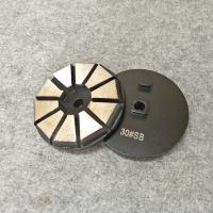 China STI Grinding Tools : 3 Diamond Segments Concrete Grinding Disc with 10 Segments on sale